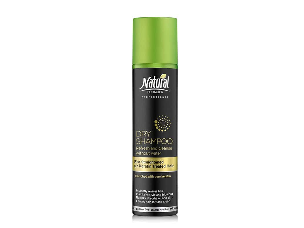 Dry Shampoo for Straightened or Keratin-Treated Hair