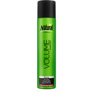 A bottle of Volume Spray